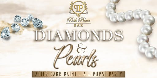 Posh Purse Bar After Dark Paint-A-Purse Party