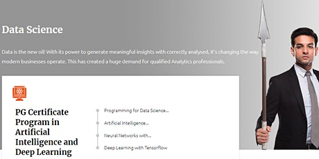 Data Science Courses - Manipal ProLearn tickets