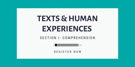 Texts and Human Experiences: Comprehension Skills (HSC English) tickets