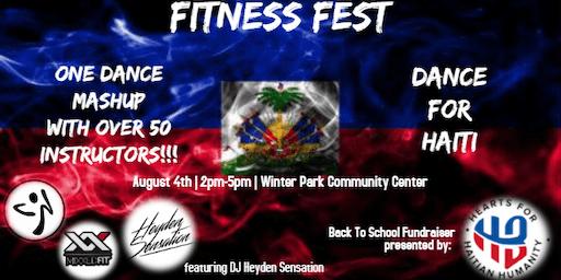 FITNESS FEST - DANCE FOR HAITI