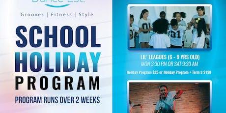 School Holiday DANCE Program (KIDS 6 - 9yrs) July 2019 | Élan Dance Est. tickets