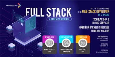 Bootcamp - Full Stack Academy Batch #5