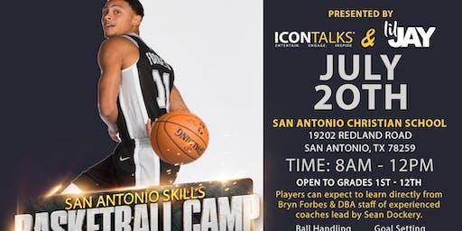 San Antonio Skills Basketball Camp - Bryn Forbes