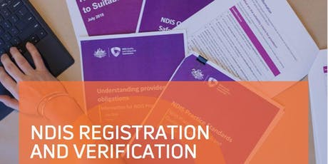 NDIS Registration 101 - Queanbeyan tickets