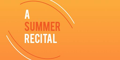 Pre-concert Talk: A Summer Recital