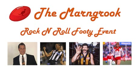 The Marngrook Rock N Roll Footy Event tickets
