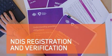 NDIS Registration 101 - Moruya tickets