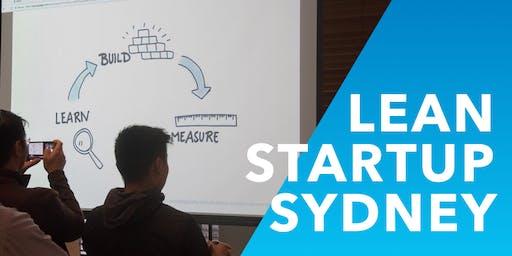 Lean Startup Sydney Meetup - July 2019