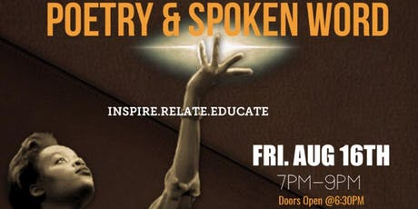 Poetry & Spoken Word (Aug 16th) tickets