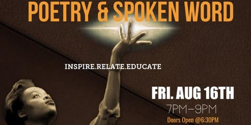 Poetry & Spoken Word (Aug 16th)