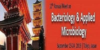 12th Annual Meet on Bacteriology & Applied Microbiology 2019