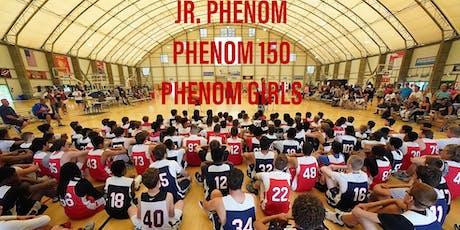 2019 JR PHENOM, PHENOM 150, PHENOM GIRLS NATIONAL CAMPS PHOTOGRAPHY tickets