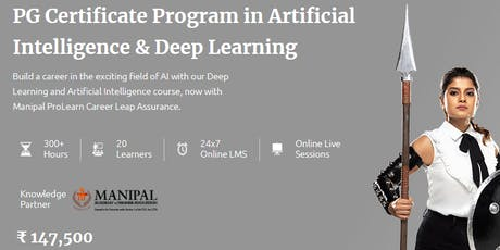 Artificial Intelligence Course - Manipal ProLearn tickets
