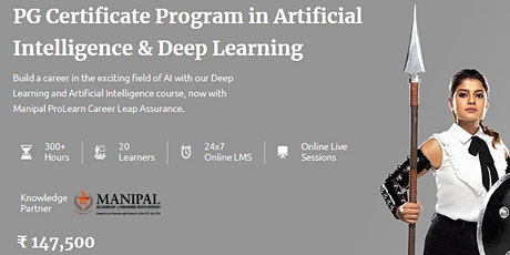 Artificial Intelligence Course - Manipal ProLearn biglietti