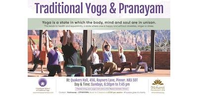 Traditional Yoga and Pranayam