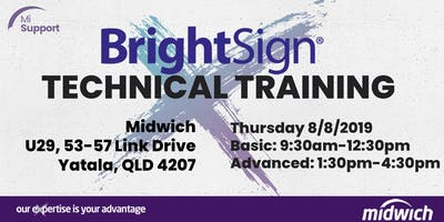 BrightSign Technical Training - BRISBANE 8 August