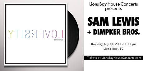 DOUBLE BILL: SamLewis with the DimpkerBrothers tickets
