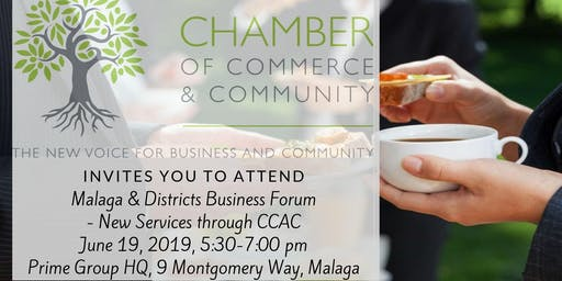 Malaga and Districts Businesses Forum - Chamber of Commerce And Community