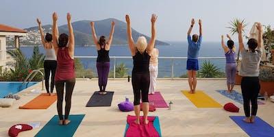 8 Tage Yoga & Meditation im idyllischen Künstlerdorf am Mittelmeer in Kalkan / Türkei