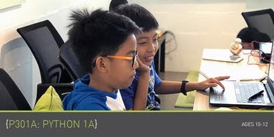 Coding for Kids - P301A: Python 1A Course (Ages 10-12) @ Parkway Parade