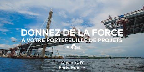 Donnez de la force à votre portefeuille de projets - Jeudi 27 juin 2019 billets