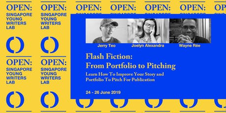 Flash Fiction: From Portfolio to Pitching  tickets