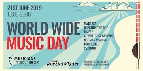 World Wide Music Day 2019 tickets