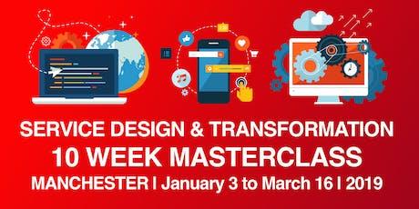 Learn Service Design - Digital Transformation   10 Week Course  tickets