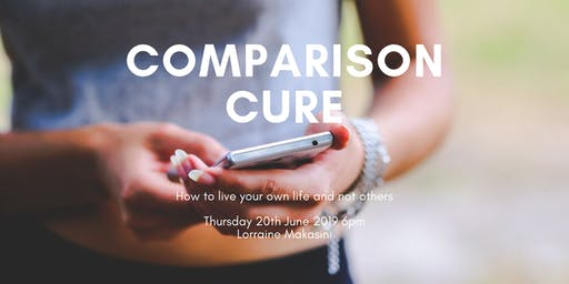 COMPARISON CURE - How to live your own life and not others