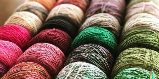 Learn to Dye Yarn and Fibre Workshop