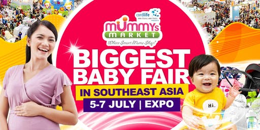 Baby Fair 2019 – Mummys Market - 5 to 7 July 2019 at Singapore Expo