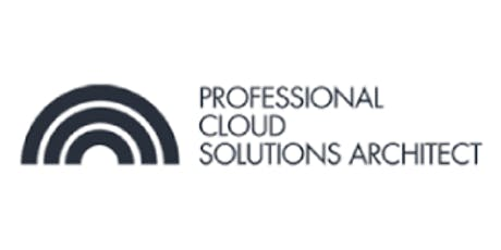 CCC-Professional Cloud Solutions Architect 3 Days Training in New York,NY  tickets