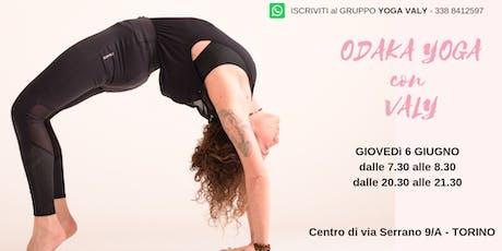 Odaka Yoga con Valy - Torino biglietti
