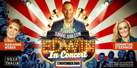 Edwin in Concert 2019 tickets