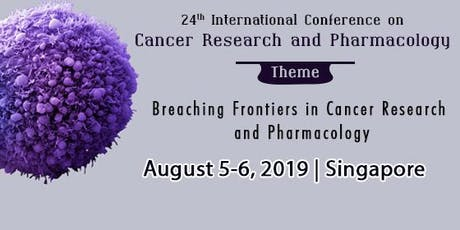 24th International Conference on Cancer Research and Pharmacology tickets