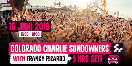 Colorado Charlie Sundowners w/ Franky Rizardo (3hr set) tickets