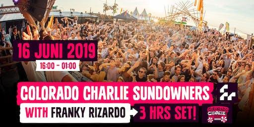 Colorado Charlie Sundowners w/ Franky Rizardo (3hr set)
