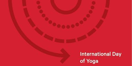 international day of yoga week - Sarah Joseph  tickets