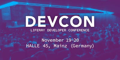 Liferay DEVCON 2019