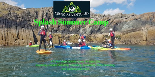 Celtic Adventures Splash Summer Camp