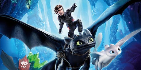 """Thursday FREE Kids School Holidays Movie """"How to Train Your Dragon 3"""" tickets"""
