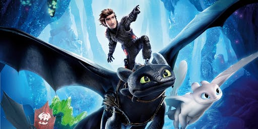 "Thursday FREE Kids School Holidays Movie ""How to Train Your Dragon 3"""