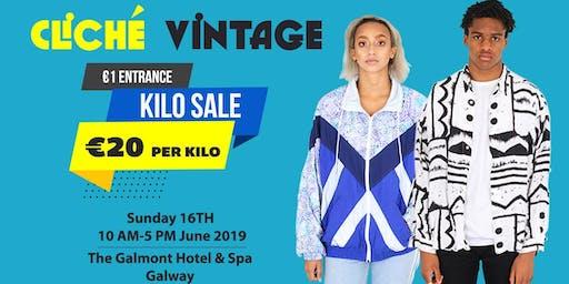 Cliche Vintage Kilo Sale Galway