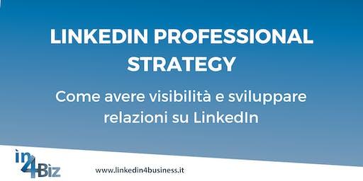 Corso LinkedIn Professional Strategy IV edizione 2019
