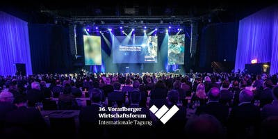 36. Vorarlberger Wirtschaftsforum 2019