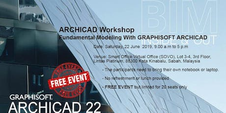 ARCHICAD Workshop - Fundamental Modeling With GRAPHISOFT ARCHICAD tickets