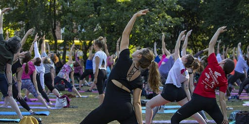 Free Yoga Classes in Merrion Square - from Camile Thai