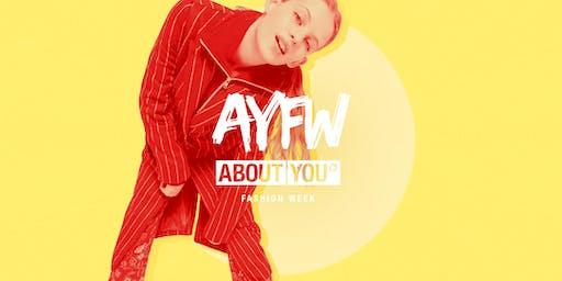 Tagesticket + Fashion Show @ AYFW, Sonntag, 07. Juli 2019, 12 Uhr