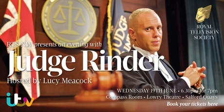 RTS NW presents An Evening With Judge Rinder tickets