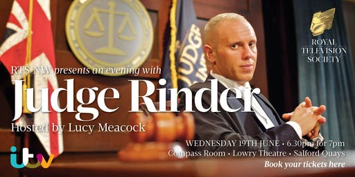RTS NW presents An Evening With Judge Rinder
